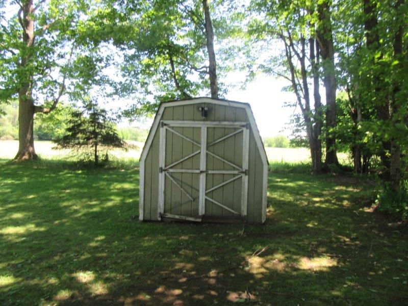Shed with Village Home Camden NY for sale