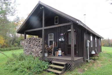land for sale with Snowmobile/ATV Cabin in Tug Hill!