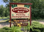 199 acres Campground on Carterville Pond