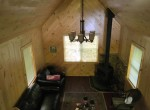 cabin is totally off the grid