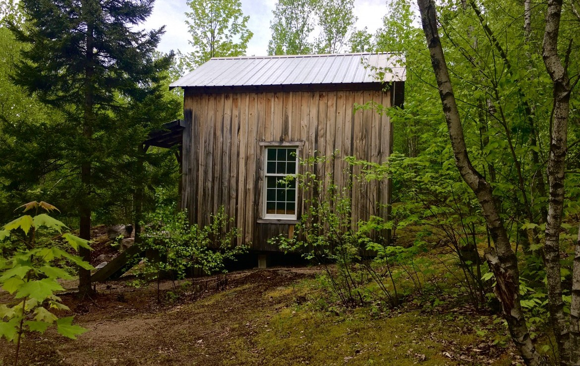 30 acres with Two Adirondack Cabins