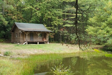 13 acres Log Cabin and 2 Ponds Constantia NY