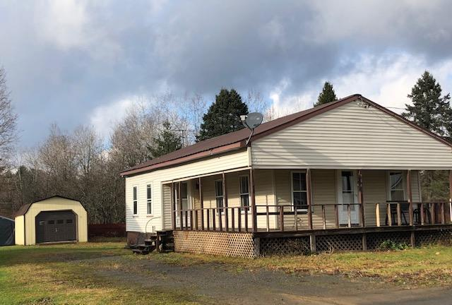 932 Sq Ft Bungalow For Sale Feet from C4 Snowmobile Trail, Redfield, NY!