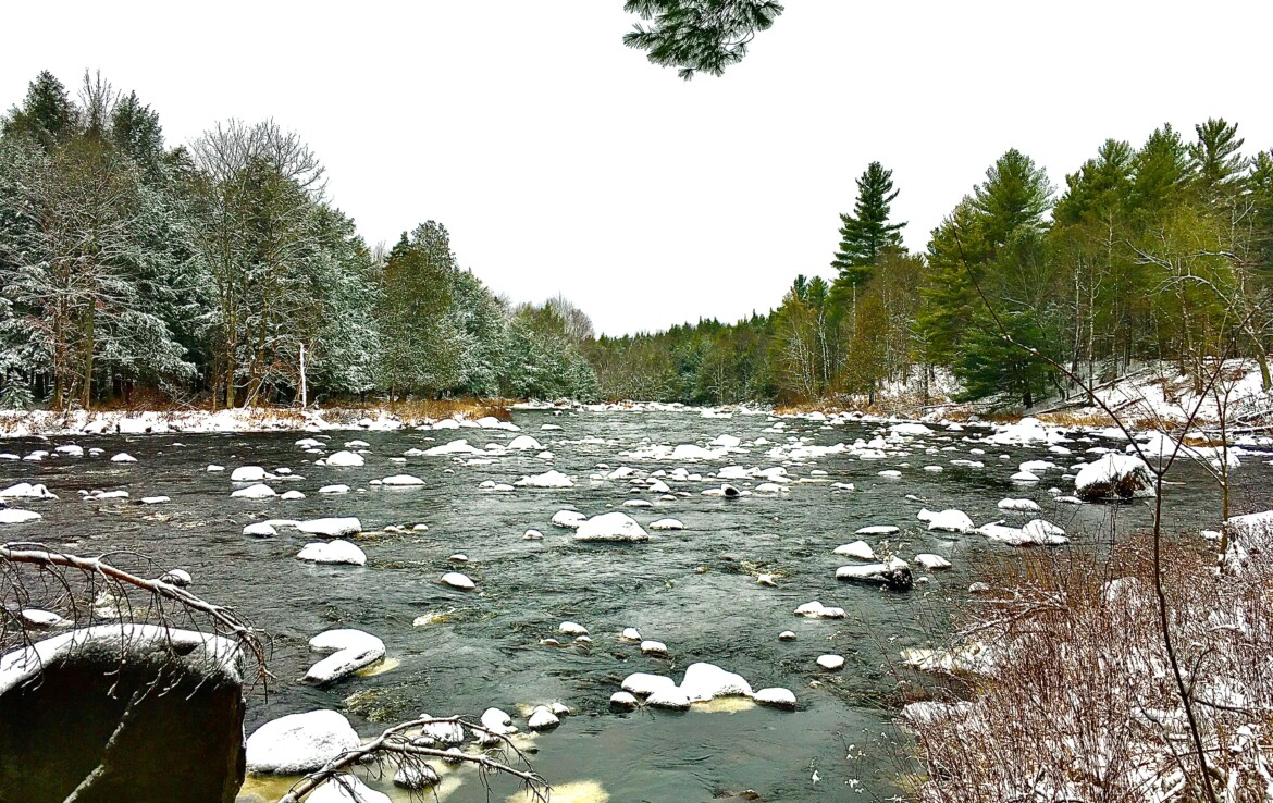 Seclusion on the St. Regis River, Minutes from Snowmobile/ATV Trails!