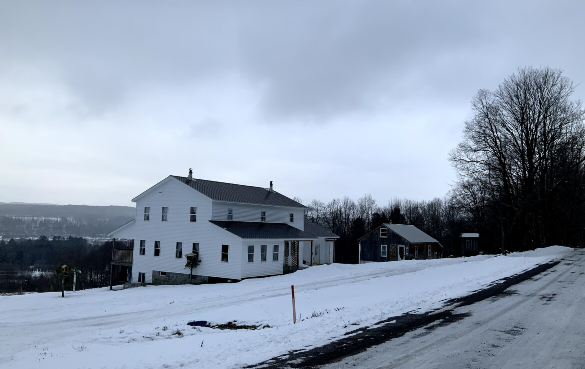4.3 acre Land for Sale with Off-Grid Country Home, Edmeston, NY!