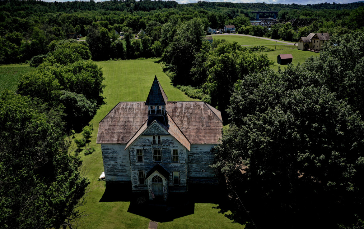 Converted Schoolhouse Home For Sale Fort Hunter NY