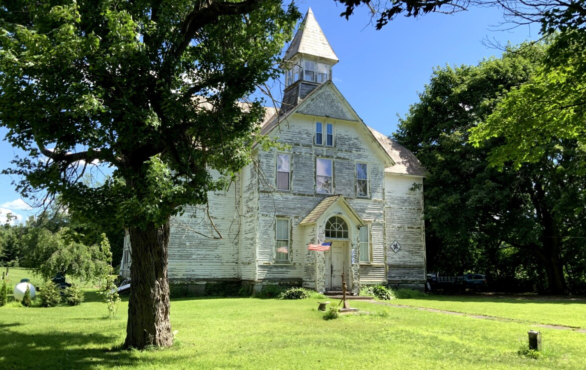 4,650 SqFt Converted Schoolhouse Home for Sale, Fort Hunter, NY