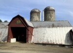 Farm with Country Home and Outbuildings Bordering Stateland!