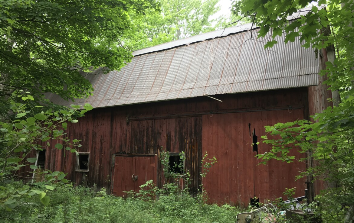 Beautiful Forested St. Lawrence Valley Retreat on Year-Round Rd!