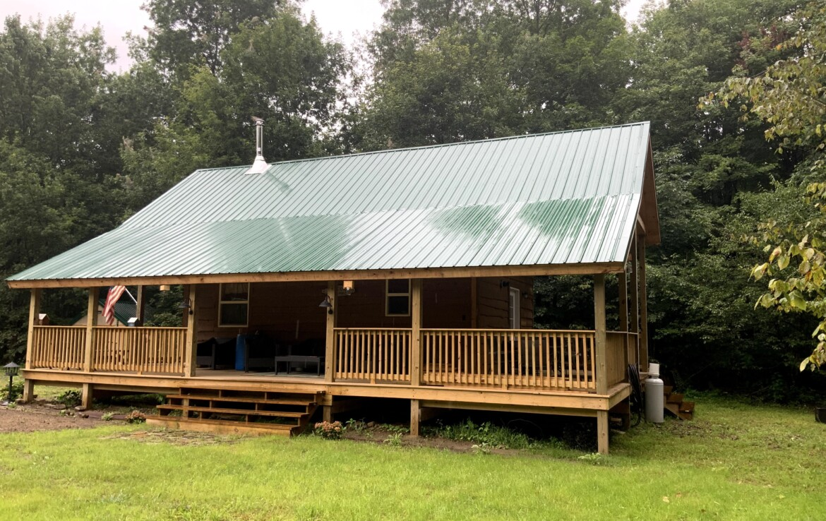 25 acre Hunting Land for Sale with Off-Grid Cabin, Albion, NY!