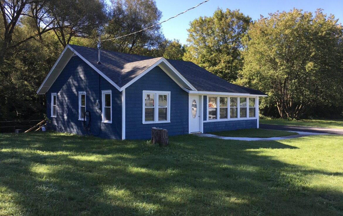 2.3 acres Newly Remodeled Creekfront Home Harrisville NY