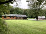 5 acres with 7 Bed/2.5 Bath Updated Custom Log Home for Sale, Taberg, NY!