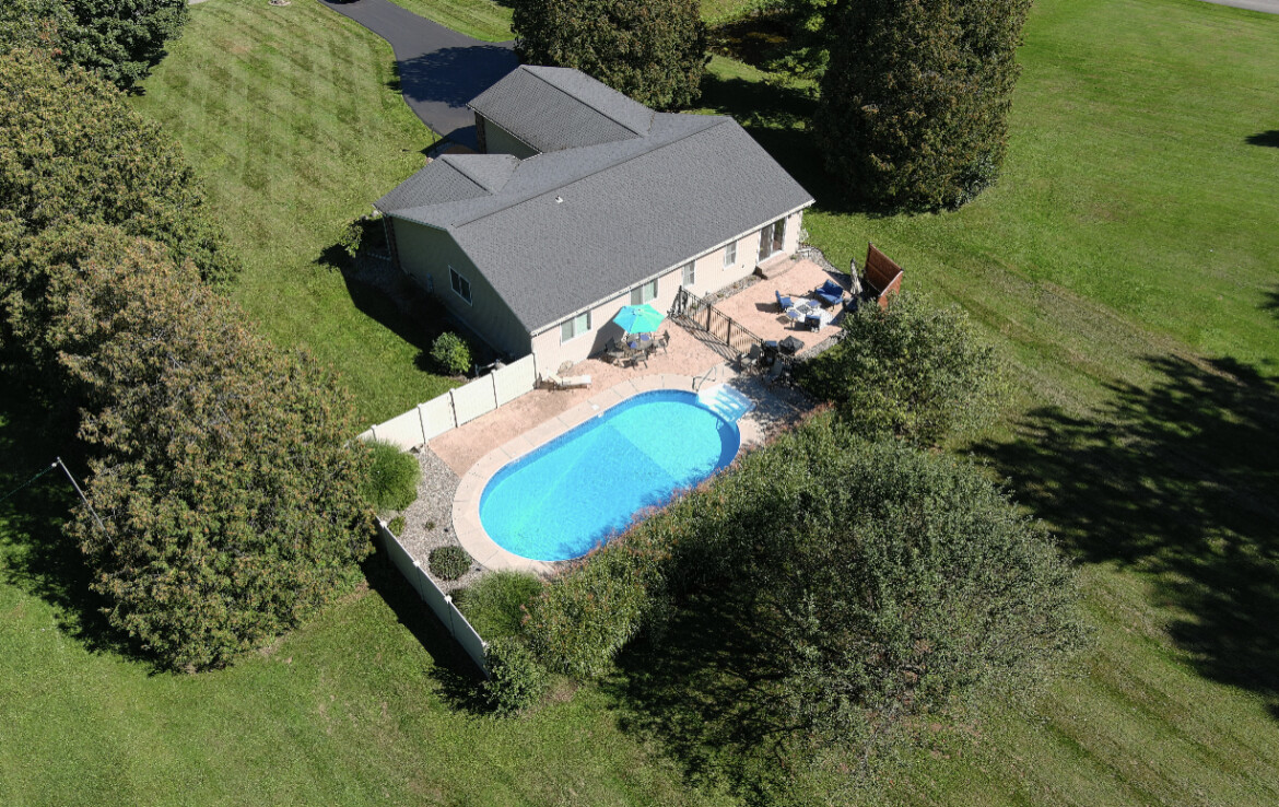 Spacious Updated 4 Bedroom/2 Bath Home with Gorgeous Inground Pool!